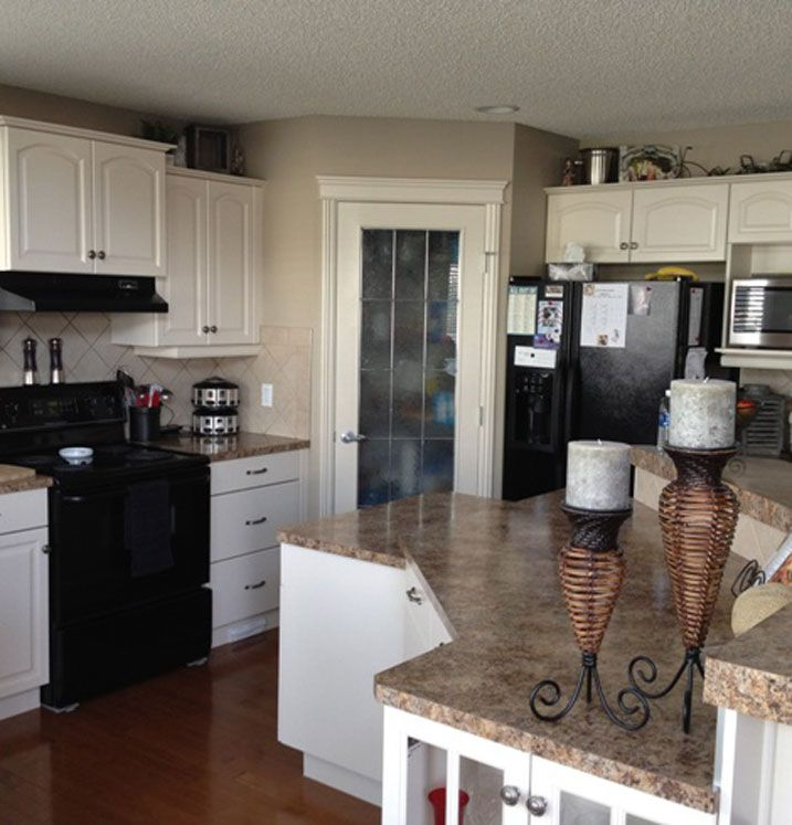 Kitchen Transformations: Cabinet Transformations Submitted By Brenda C