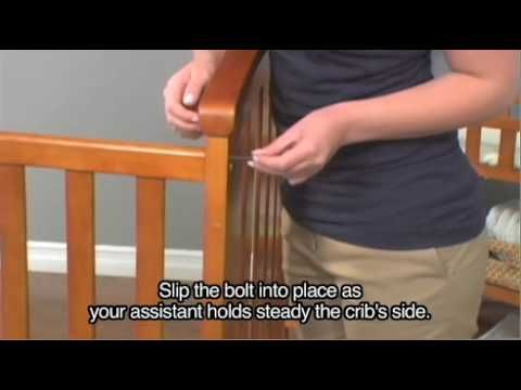 How To Assemble A Crib 15 Steps With Pictures Wikihow Crib Assembly Cribs Delta Children