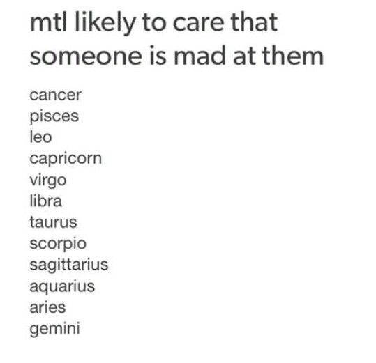 Most to Least   Zodiac Signs   Zodiac signs, Libra zodiac
