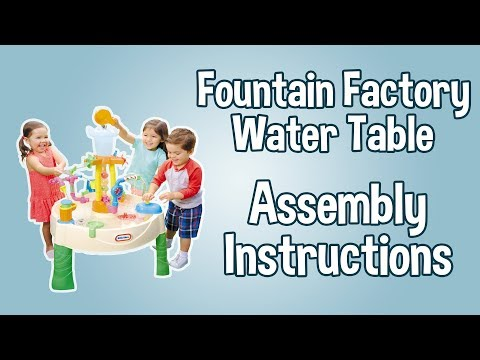 Little Tikes Toy Video Assembly Water Table Little Tikes