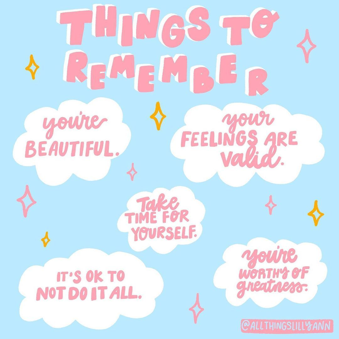 Just a few things to remember love bug💘Life can get crazy and ...