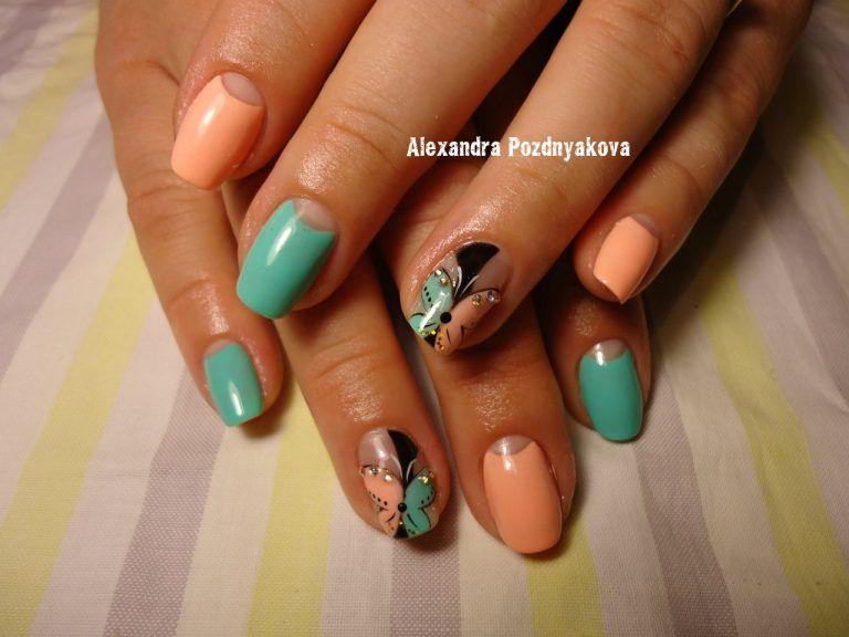 Nail Art #1769 - Best Nail Art Designs Gallery | Moon nails ...