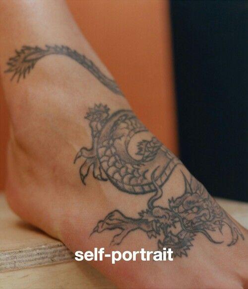 Dragon Foot Tattoo Foot Tattoo Dragon Tattoo Foot Dragon Tattoo For Women