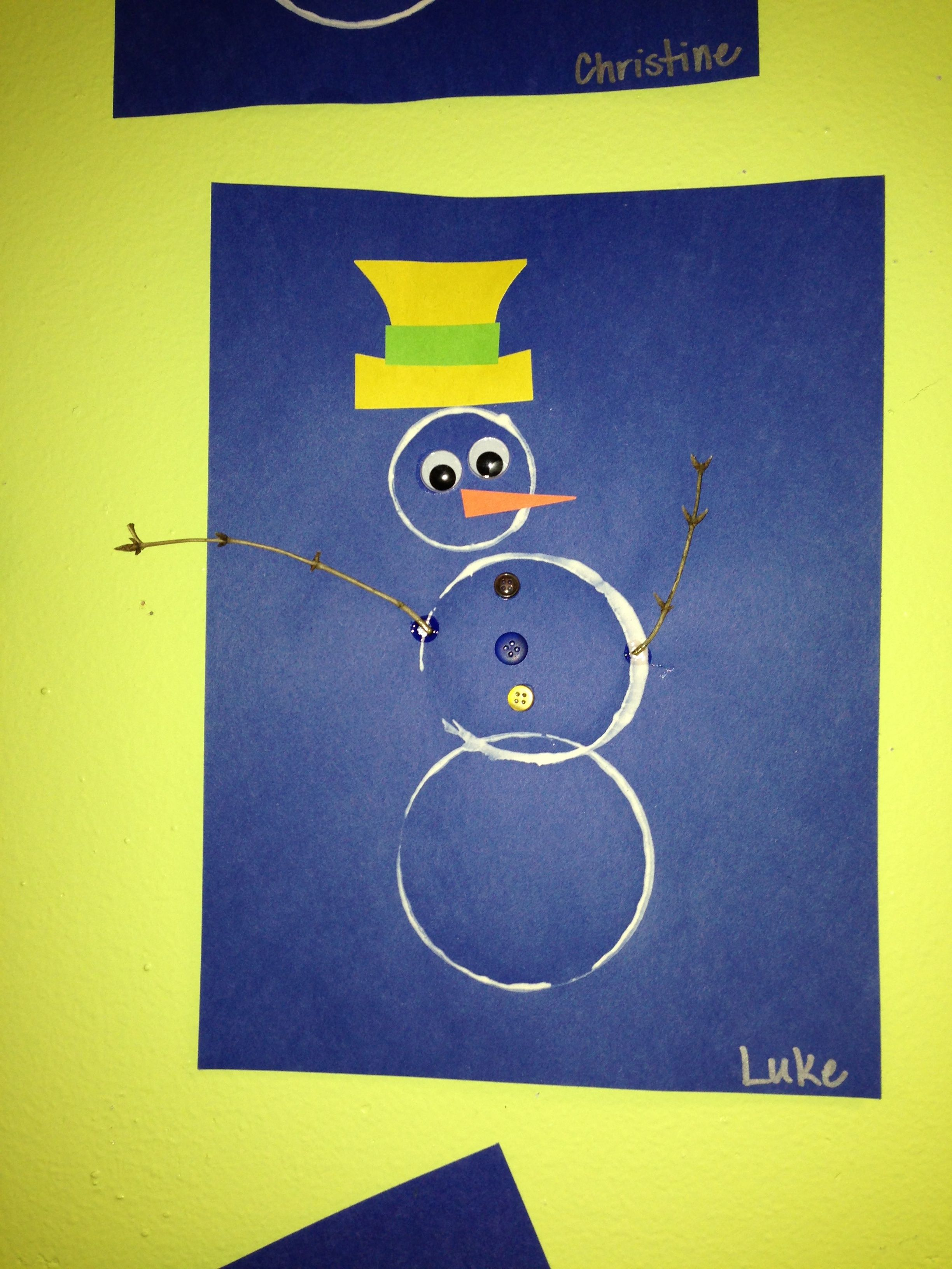 Fun Snowman Craft