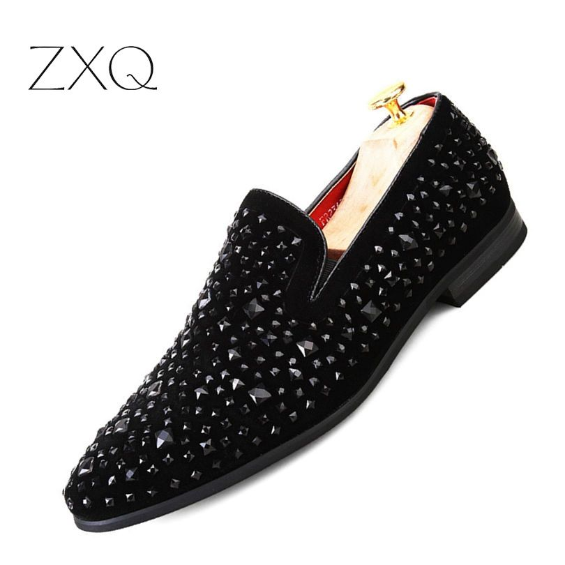 260b14e42c Free Shipping] Buy Best New Dandelion Spikes Flat Leather Shoes ...