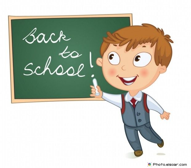 Students Come Back To School ~ Cartoon Images • Elsoar | School cartoon,  Kids clipart, Cartoon images