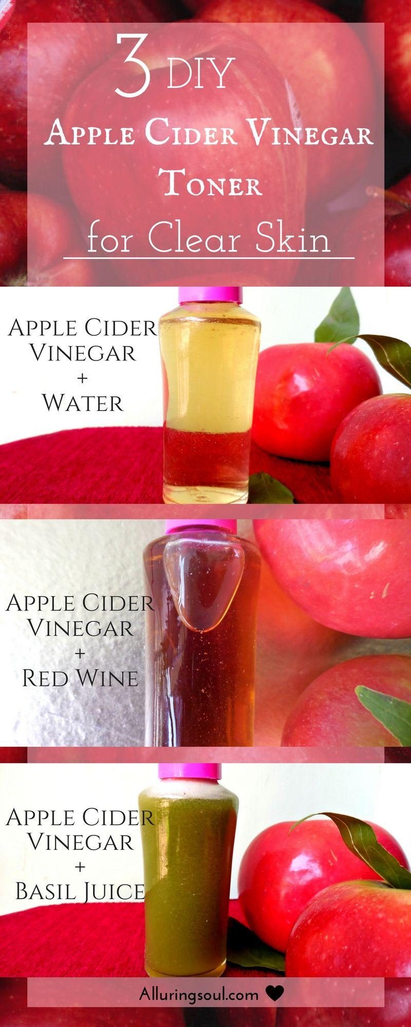 Get Glowing With A Basic Korean Skin Care Routine With Images Apple Cider Vinegar Toner Apple Cider Vinegar For Skin