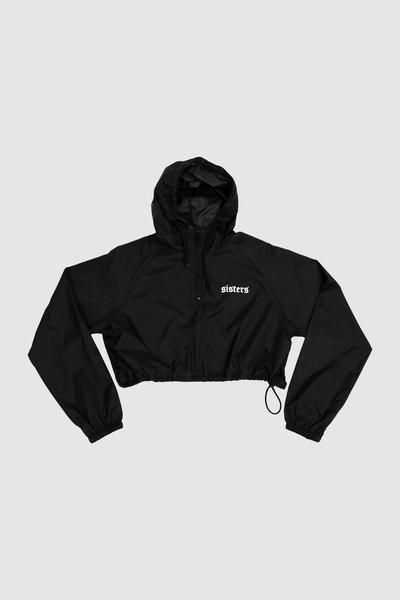 13cd02d7a1a02 Downtown Cropped Windbreaker – Sisters Apparel