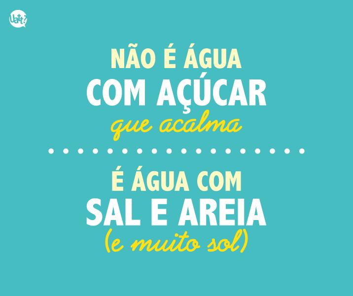 Frase Mar Verao Uatt Pensamentos Frases Quotes E Beach