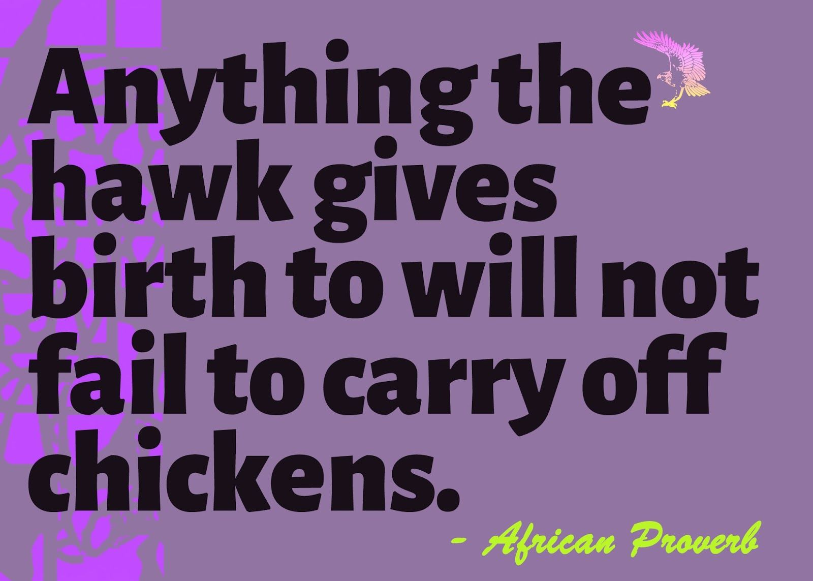 African proverbs quotes and sayings about cunning deceit and lies