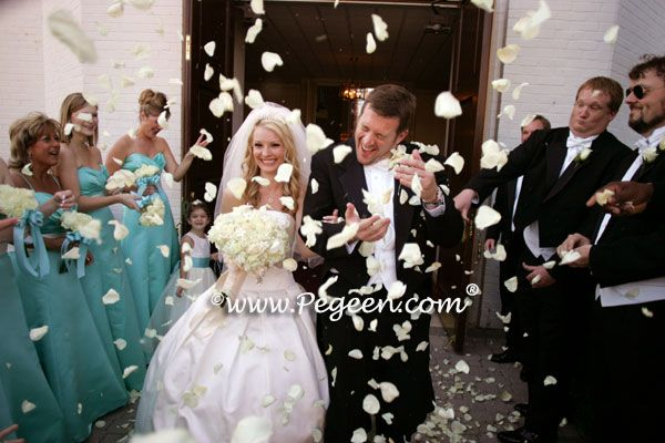 Pegeen Tiffany Blue Wedding of the Year