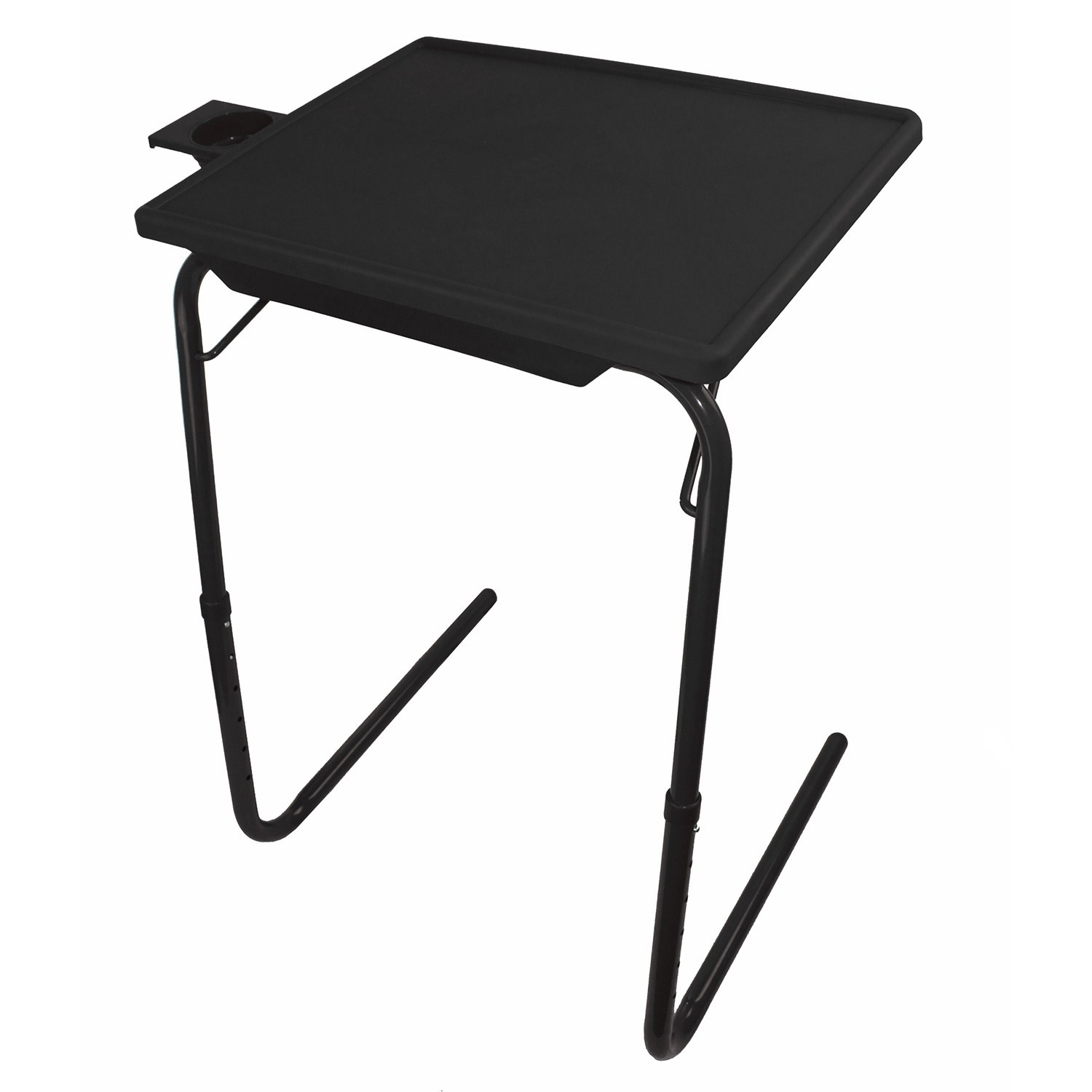 Portable Foldable Tv Tray Table Laptop Eating Stand W Adjustable