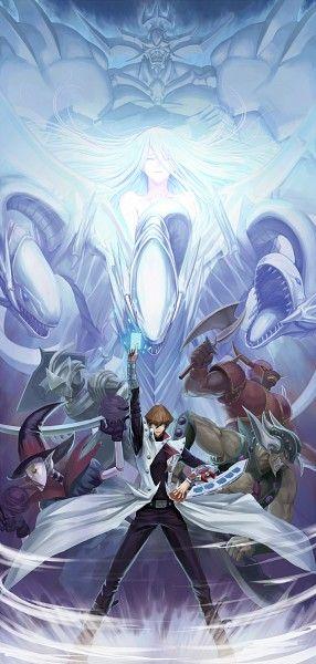 Seto Kaiba And Blue Eyes Dragon Yugioh Monsters Anime Anime Fanart