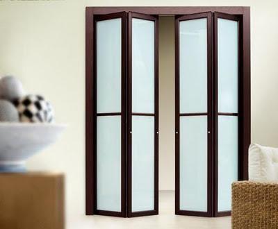 Puertas plegables en decoraci n closet vanity doors and - Puertas de acordeon ...