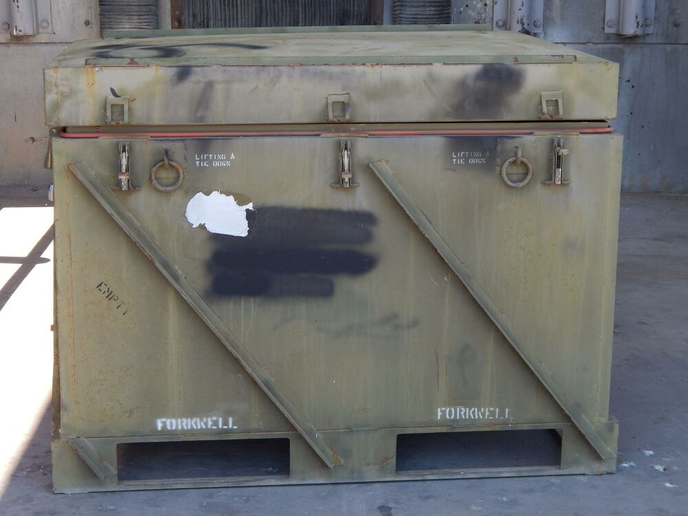 Ebay Sponsored Forkwell Industrial Military Transport Container W