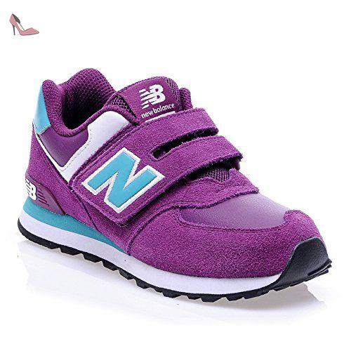 NEW BALANCE – sneaker pour fille, KG574 - - Viola/Celeste, 37,
