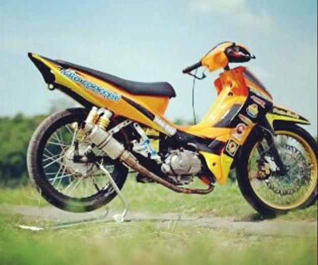 87+ Gambar Motor Drag Supra X 125 Terlihat Keren