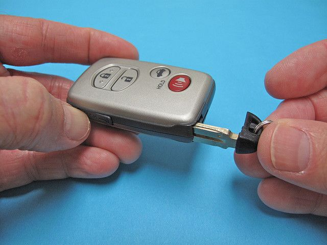 Directions On How To Change Toyota Camry Hybrid Key Fob Battery Smart Key Camry Key