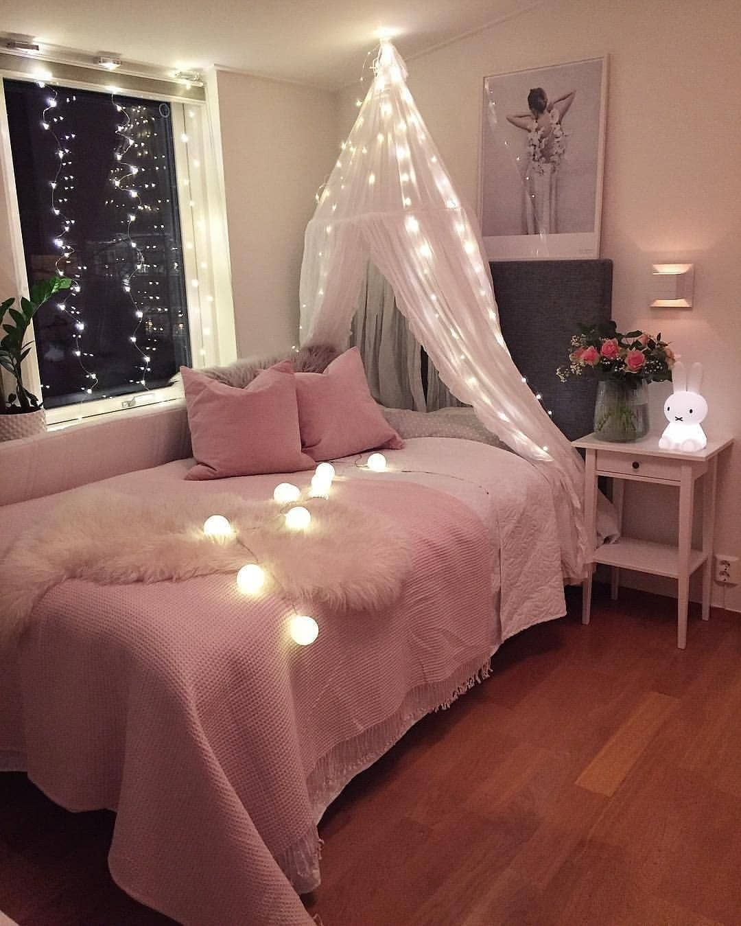 repost interiorbyfrida im exhausted its been a busy day on cute bedroom decor ideas for teen romantic bedroom decorating with light and color id=74244