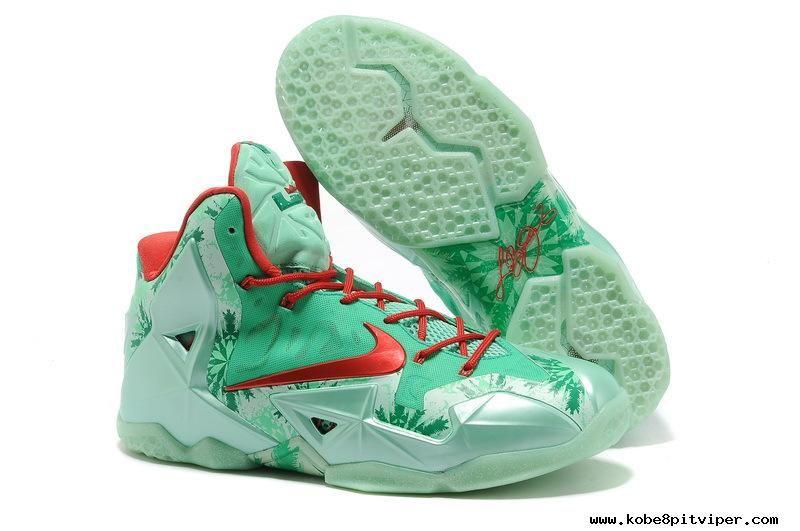 Big Discount  66 OFF Nike LeBron 11 Christmas Mens Basketball Shoes