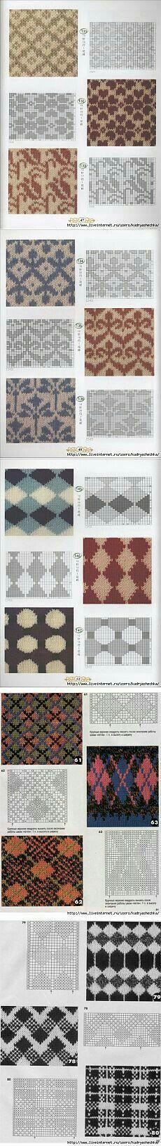 posibilidades colorwork para e | | Tapestry crochet | Pinterest ...