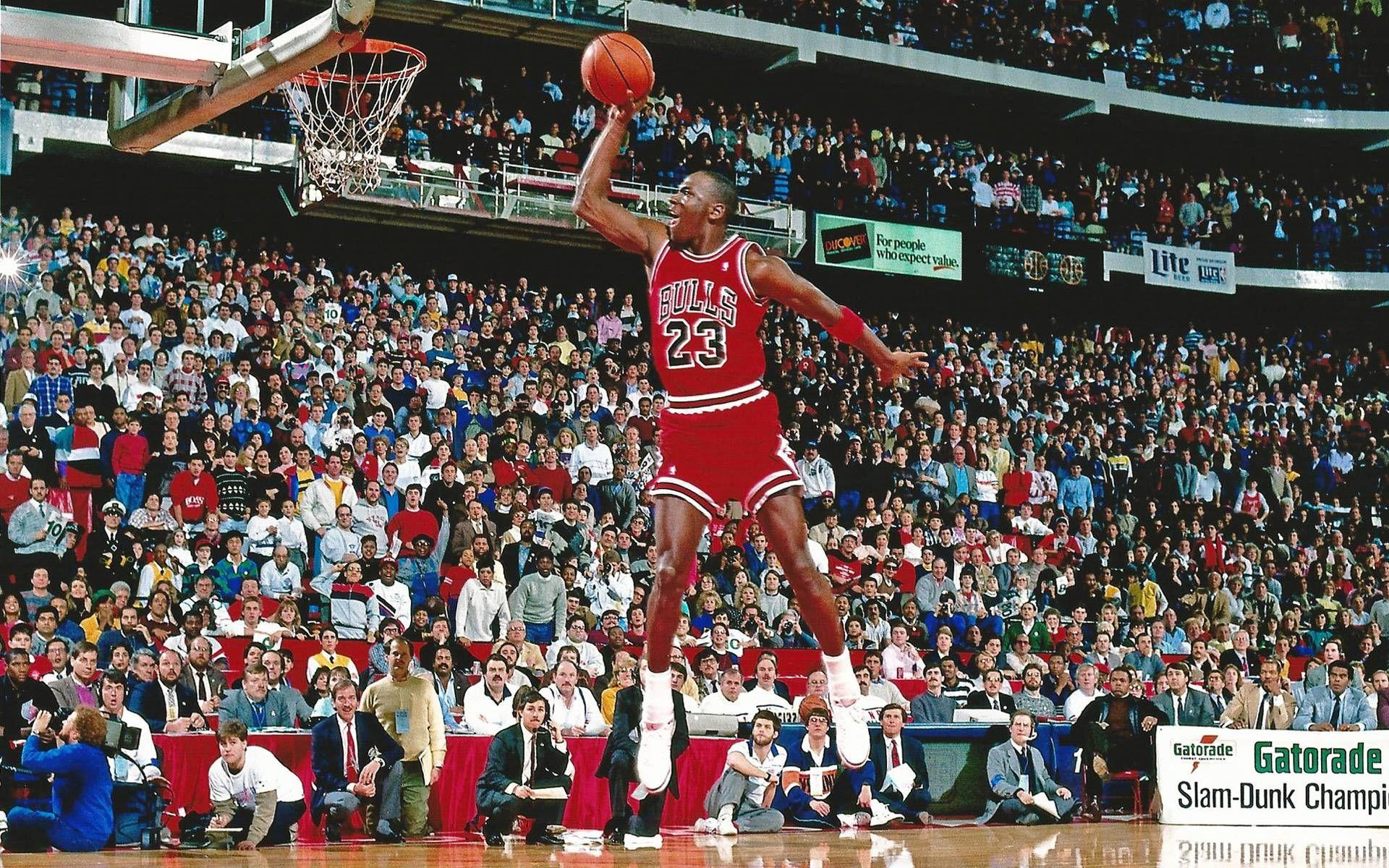 Michael Jordan Free Wallpapers Wallpaper Cave Nba Slam Dunk Contest Michael Jordan Quotes Michael Jordan