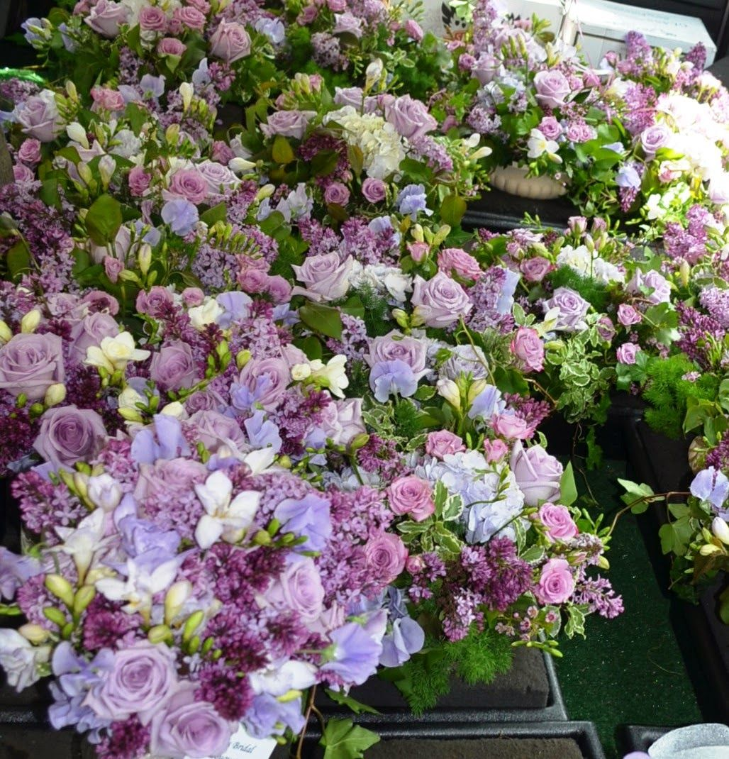 Lovely Locally Grown Lilacs ~ www.sendingsmiles.com