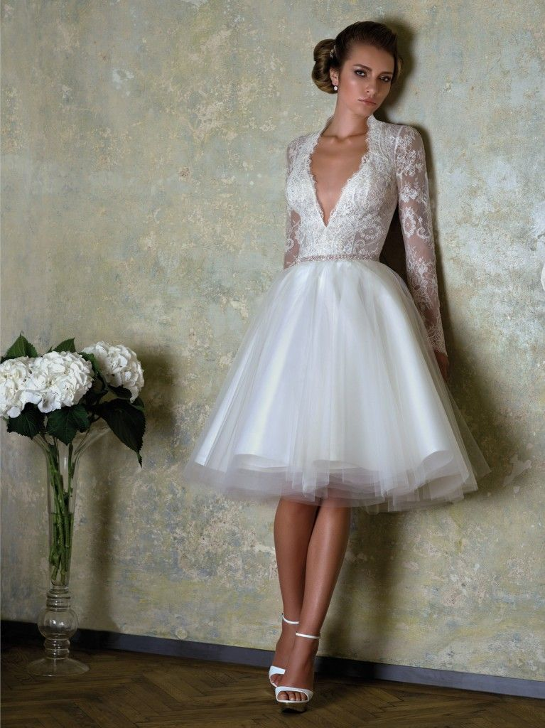 Bien Savvy Evening Gowns | Lace top and ballerina skirt wedding ...