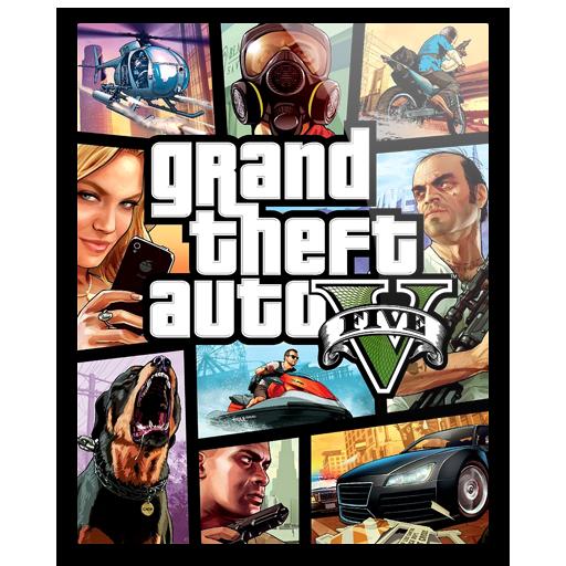 Icon Gta V By Hazzbrogaming Grand Theft Auto Series Grand Theft Auto Gta 5 Games