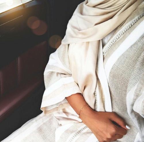 beautiifulinblack Tumblr Image about #beige-abaya - 14.10.2015
