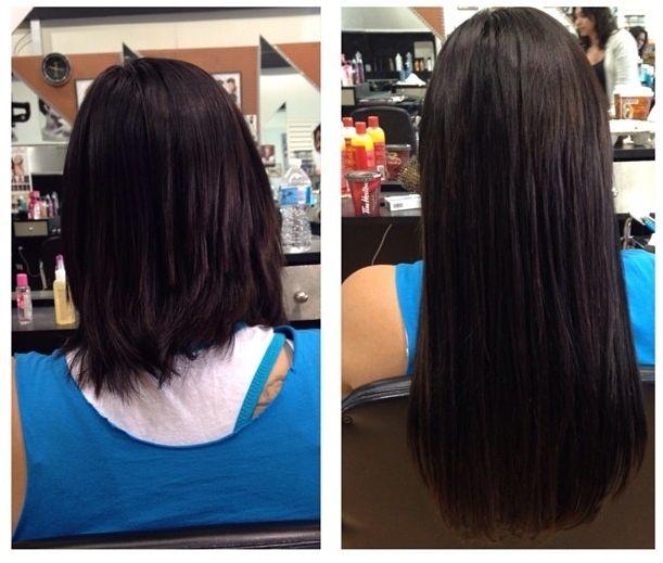 Tolles Beispiel Wie Mit Extensions Aus Haarig Tolle Haare Und Frisuren Werden Vorher Nachher Bild Haare Vorher Nachher Echthaar Extensions Haarverlangerung