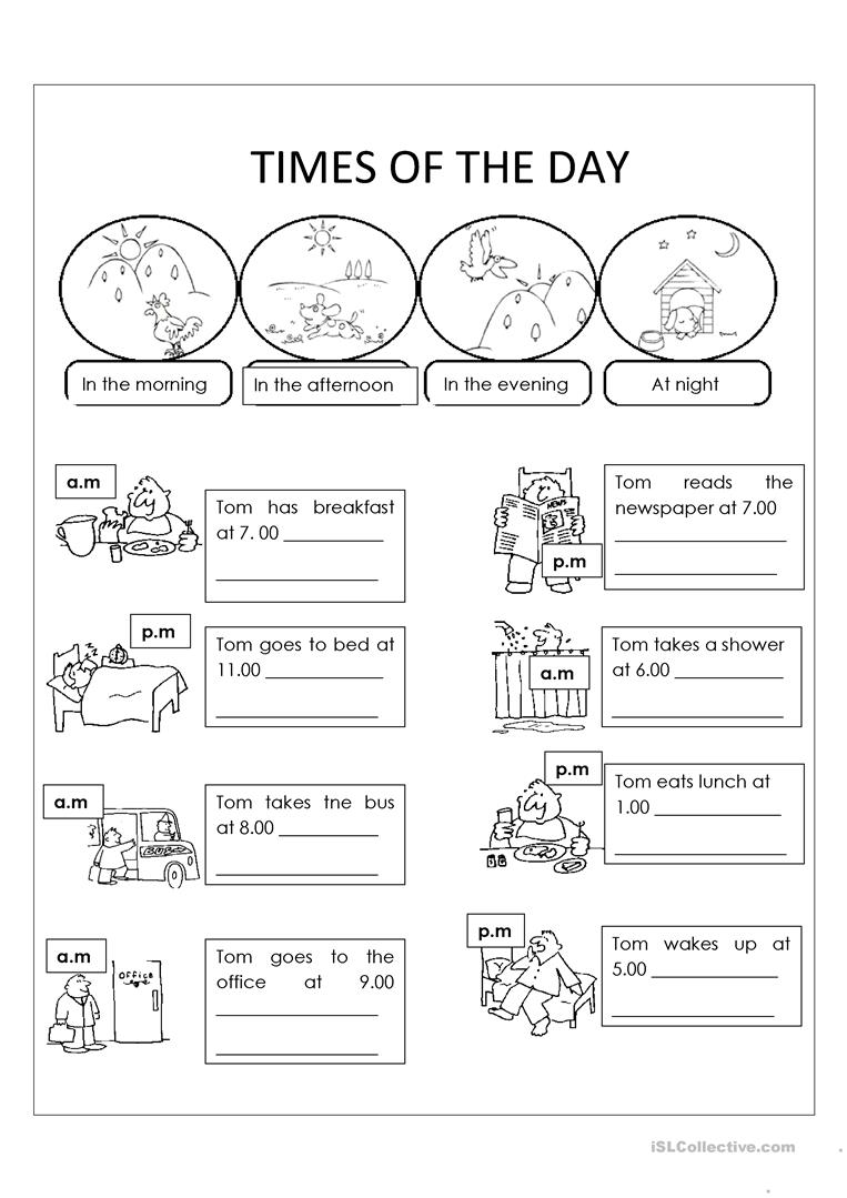 Day And Night Worksheet Free Esl Printable Worksheets Made By Teachers Kindergarten Worksheets Everyday Math 2nd Grade Math Worksheets
