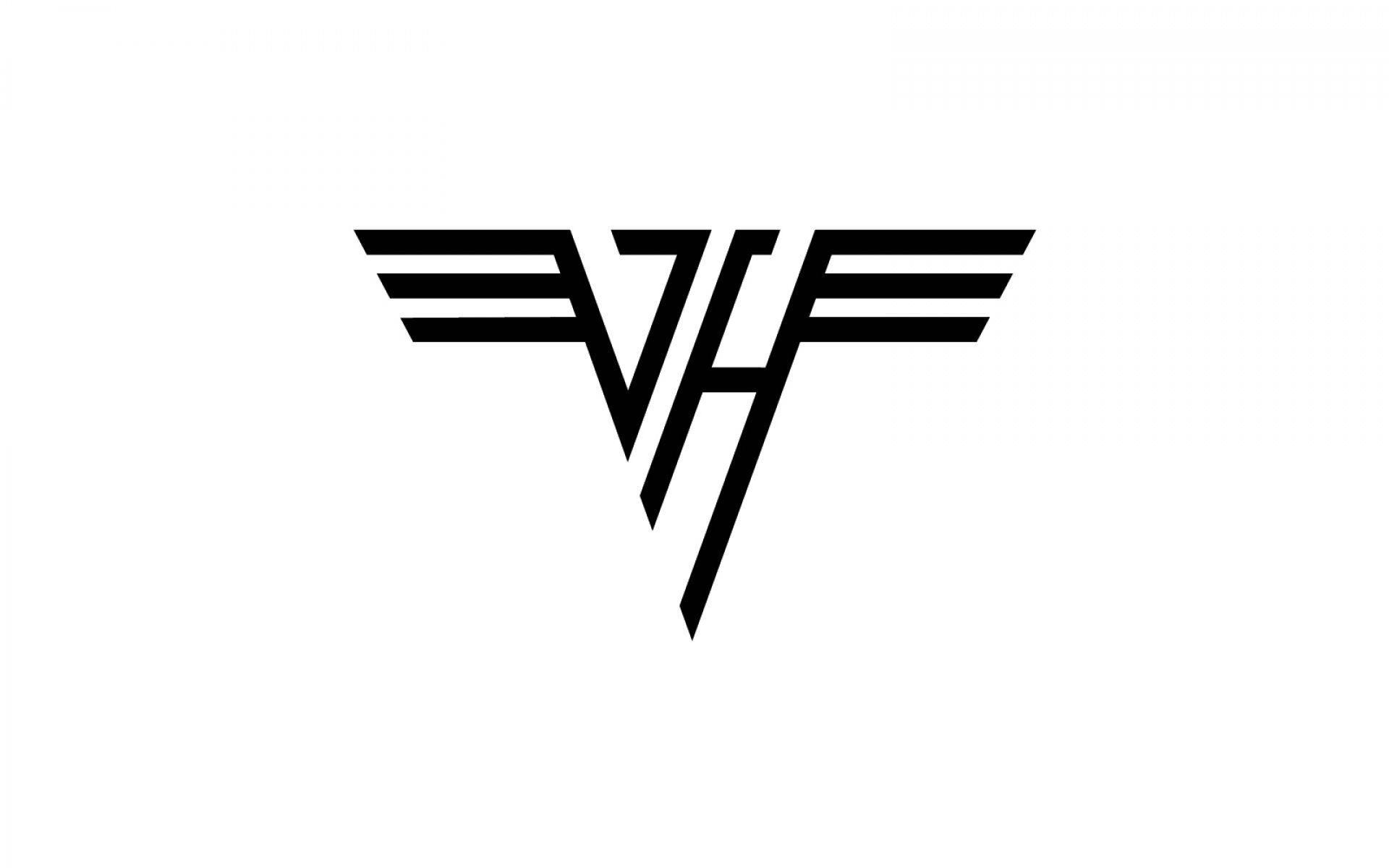 Van Halen Hard Rock Heavy Metal Classic Poster Wallpaper 1920x1200 366443 Wallpaperup In 2020 Band Logo Design Rock Band Logos Van Halen