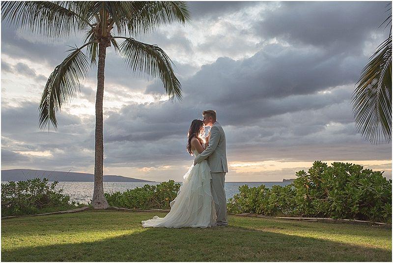 Maui Wedding,Karma Hill Photography_0061, sunset photos, hawaii weddings by tori rogers, www.hawaiianweddings.net, destination maui wedding, elegant tropical wedding on maui, dellables flowers, hawaiian style event rentals, clear top tent
