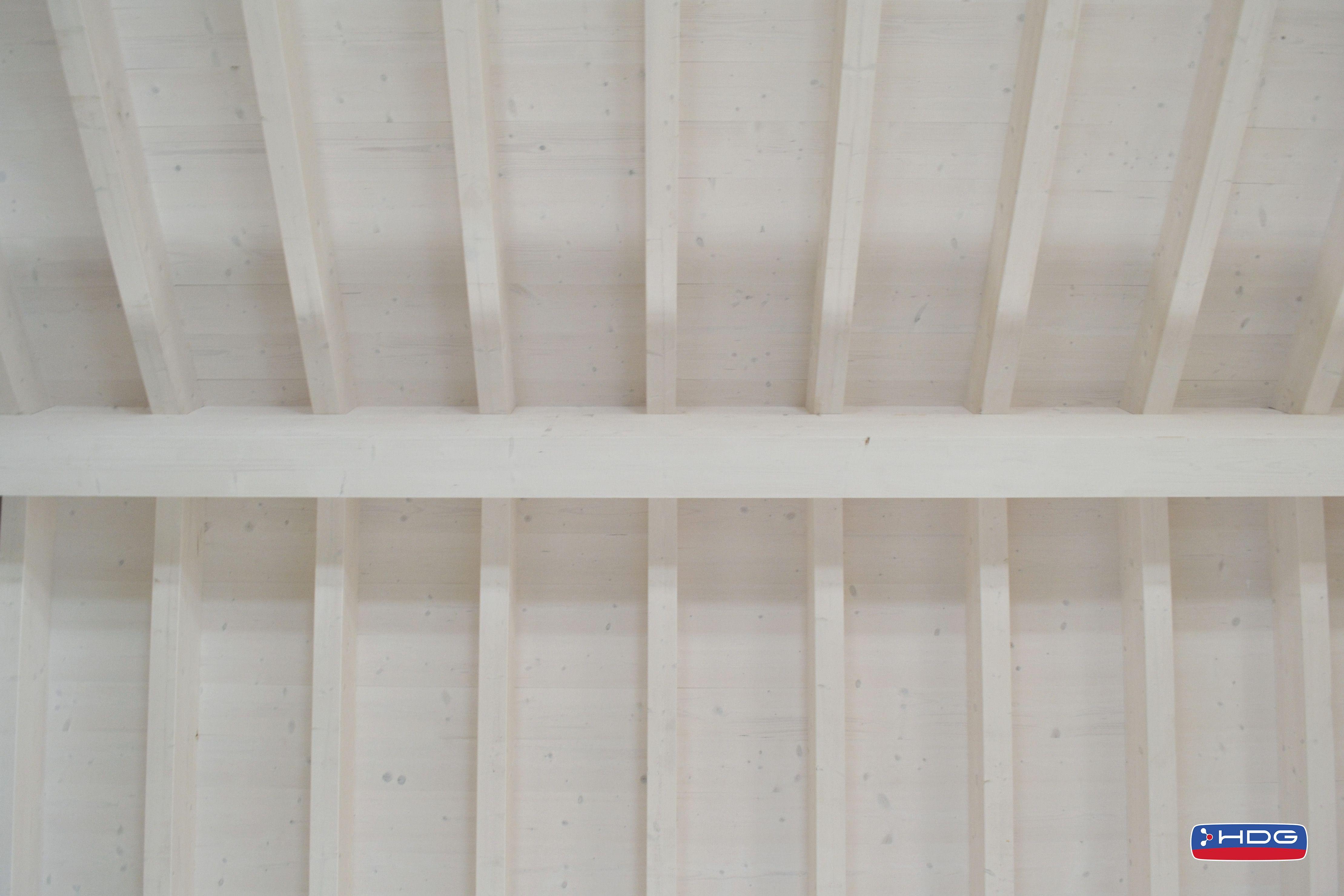Copertura In Legno Bianco : Copertura in legno trattata con lignum biancolegno impregnante
