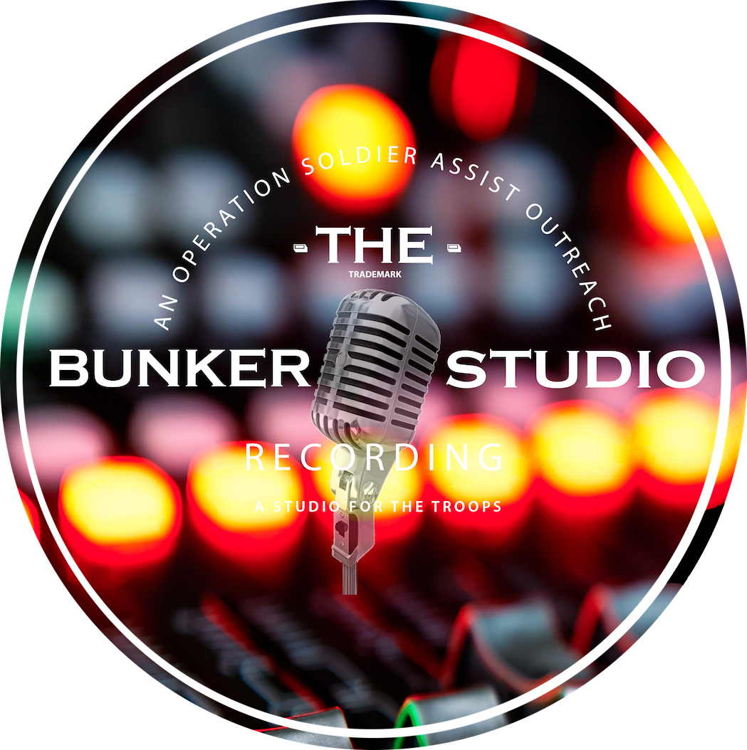 New Bunker Recording Studio Logo, it is transparent to go