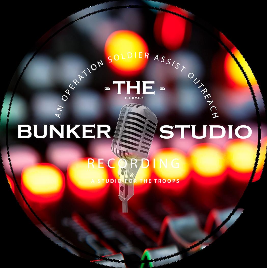 New Bunker Recording Studio Logo, it is transparent to go