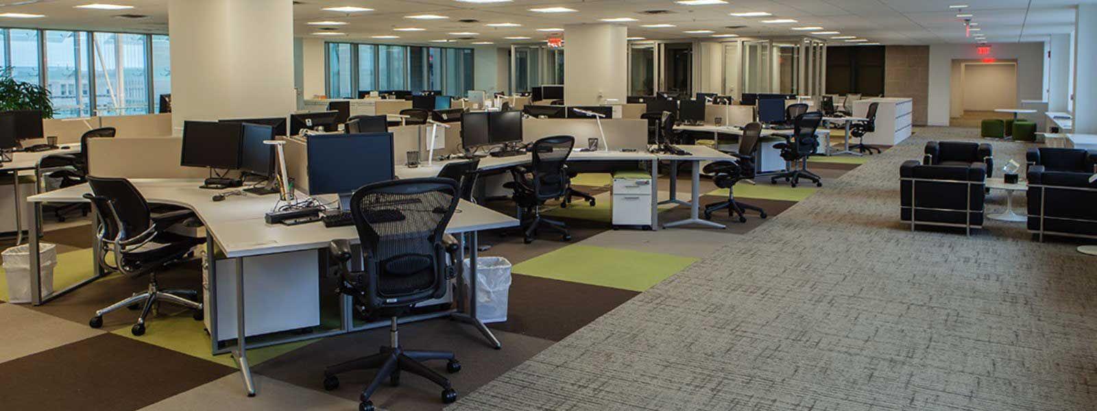 open floor office. Making Room For Innovation: Open-Plan Office Design Saves Money | Ven-American Open Floor T