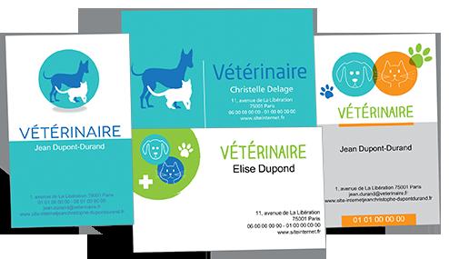 Des Cartes De Visite Pour Les Veterinaires Animaux