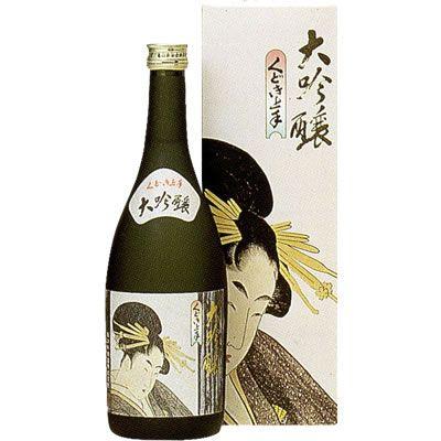 くどき上手 大吟醸 亀の井酒造 山形