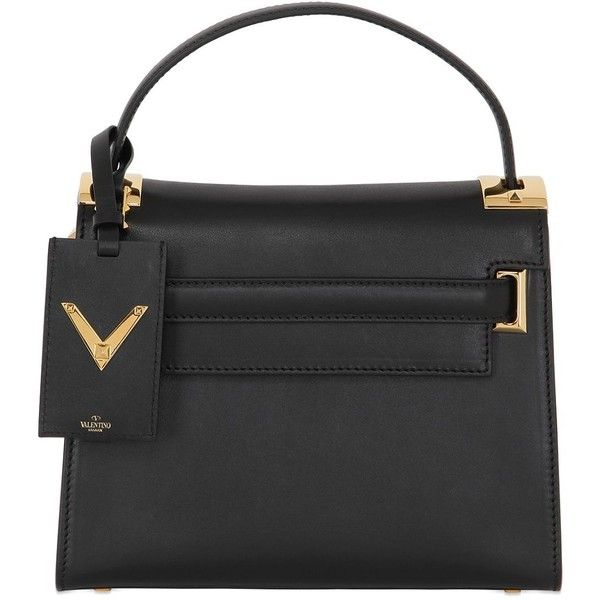 Valentino Women Small My Rockstud Leather Top Handle Bag 16 025 Cny Found On Polyvore