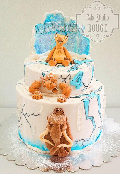 ice age  cakesdecor  ice age cake cupcake cakes cake