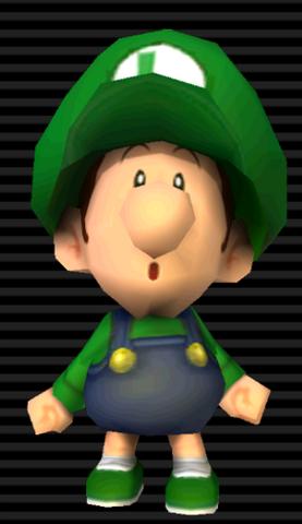 Baby Luigi From Mario Kart Wii