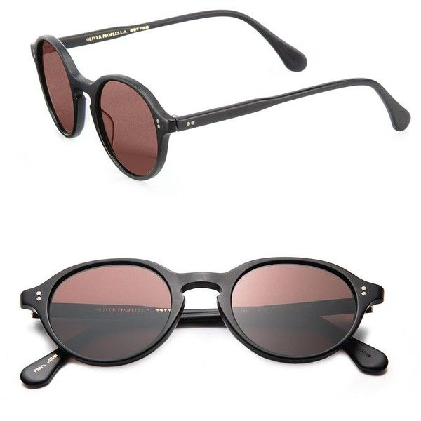 Oliver Peoples Bouffi 59MM Round Sunglasses