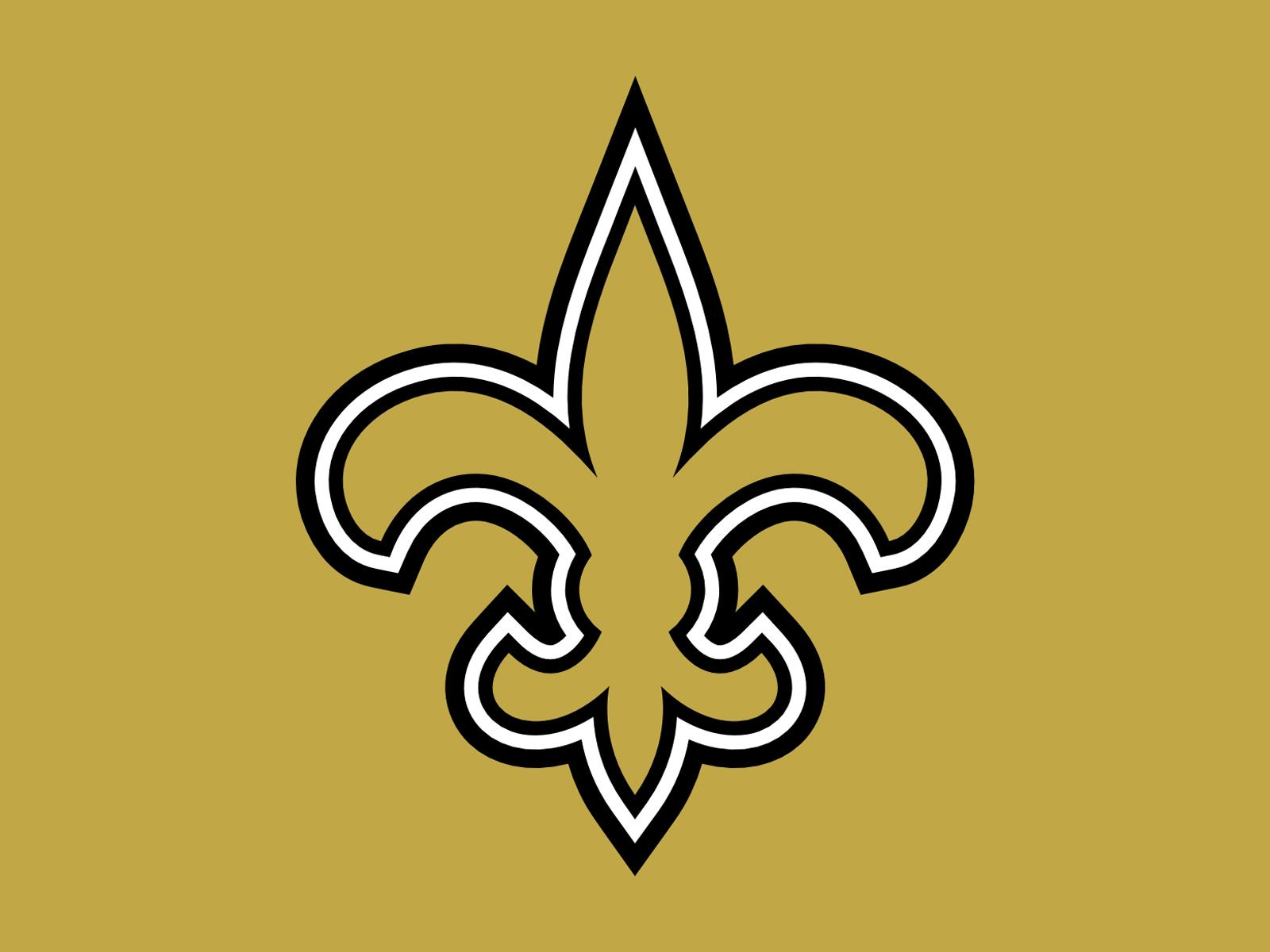 Saints Football Logo Gold Clipart Library