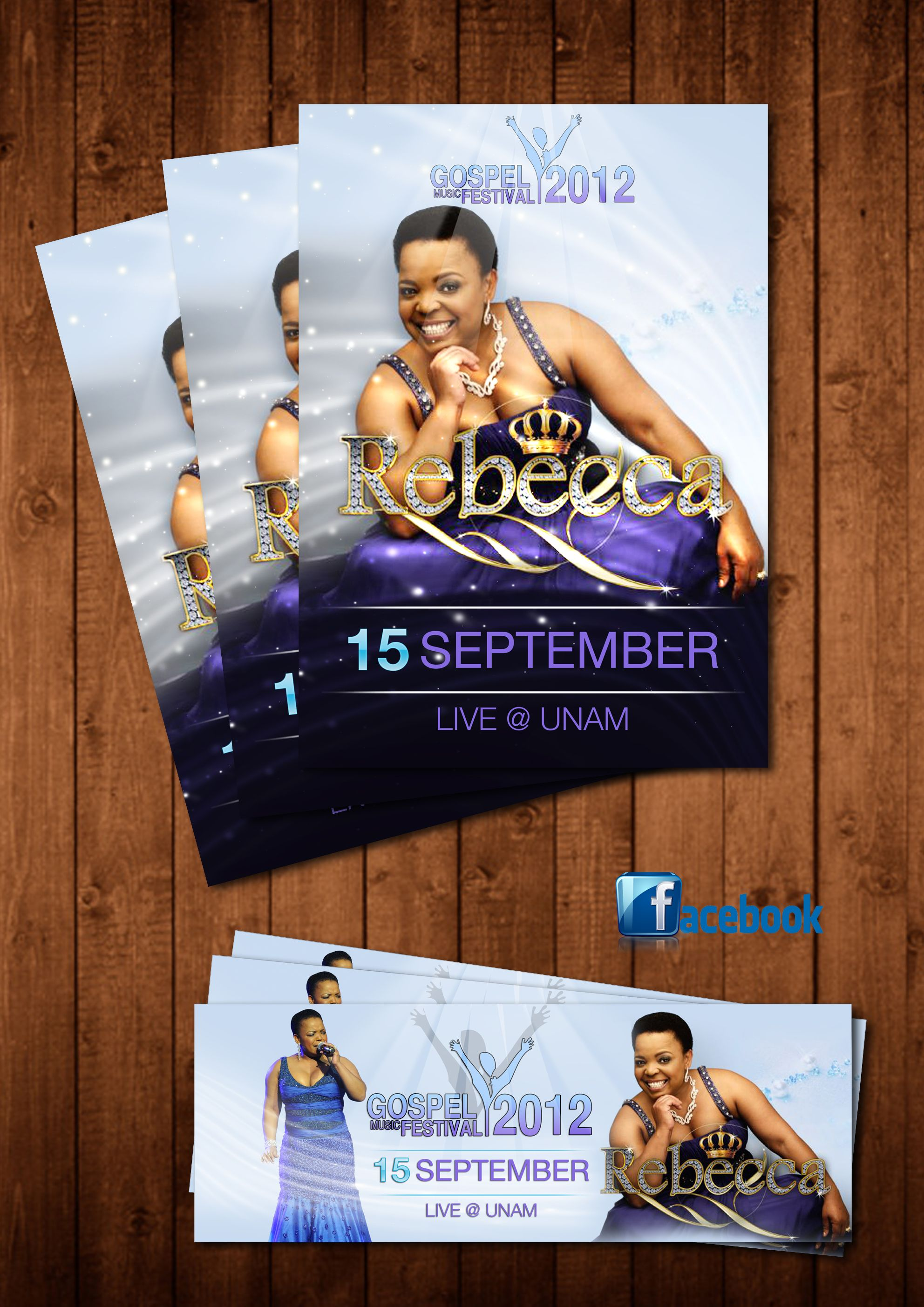 South African Artist Rebecca Malope Gospel Music Festival