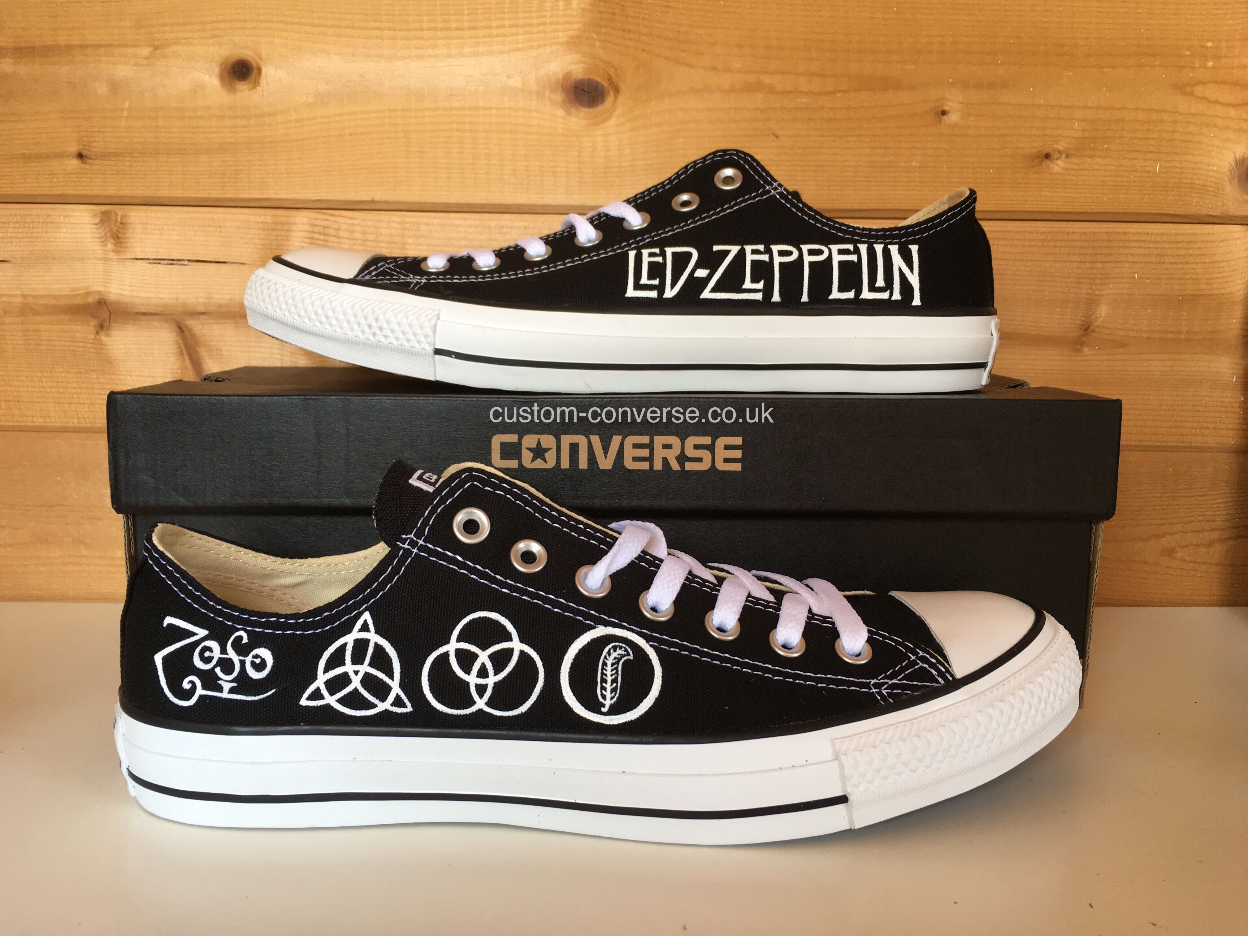 f079062e5d3f1a Led Zeppelin Low Top Converse  ledzeppelin  ledzepp  converse   customconverse
