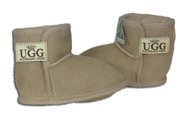 74df17cbc71 Awww! Cute Sheepskin Baby Booties. - By Empire Ugg. Made in ...