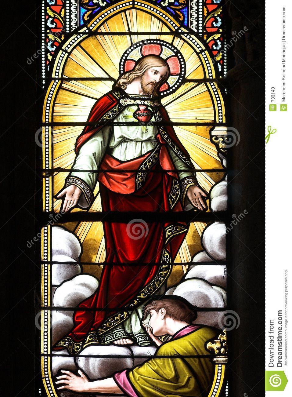 Stained Glass Window Jesus 733140 957x1300