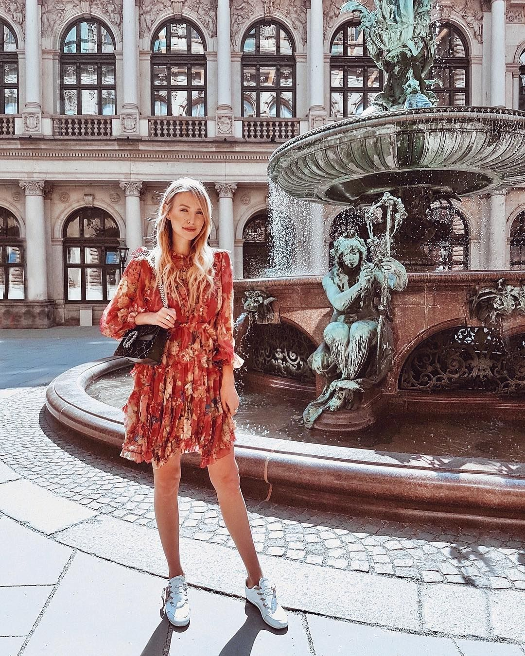 Leonie Hanne On Instagram The Prettiest Summer Florals For The Prettiest Summer Day Wearing Flannelswoman  F0 9f 8c B9 Flannelswoman Zimmermann Gucci Anzeige